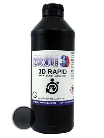 Фотополимер Monocure3D Rapid, чёрный, 1 л