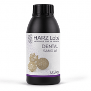 Фотополимер HARZ Labs Dental Sand A3, бежевый (0,5 кг)